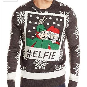 Other - Unisex #Elfie ugly Christmas sweater